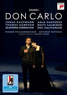 DVD & Bluray BLURAY Universal Records Verdi - Don Carlo ( Kaufmann, Harteros, Pappano )BLURAY Universal Records Verdi - Don Carlo ( Kaufmann, Harteros, Pappano )
