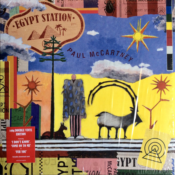 Viniluri VINIL Universal Records Paul McCartney - Egypt StationVINIL Universal Records Paul McCartney - Egypt Station