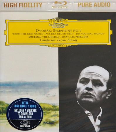 DVD & Bluray BLURAY Deutsche Grammophon (DG) Dvorak / Smetana / Liszt - Symphony No 9 / Die Moldau / Les Preludes ( Fricsay )  BlyRay AudioBLURAY Deutsche Grammophon (DG) Dvorak / Smetana / Liszt - Symphony No 9 / Die Moldau / Les Preludes ( Fricsay )  BlyRay Audio