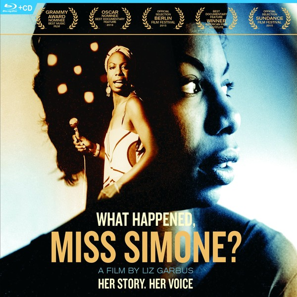 DVD & Bluray BLURAY Universal Records Nina Simone - What Happened, Miss Simone ?BLURAY Universal Records Nina Simone - What Happened, Miss Simone ?