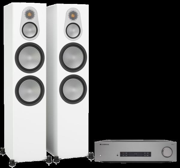 Pachete PROMO STEREO Pachet PROMO Monitor Audio Silver 500 + Cambridge Audio CXA81Pachet PROMO Monitor Audio Silver 500 + Cambridge Audio CXA81