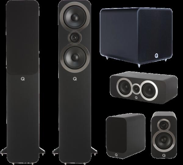 Pachete PROMO SURROUND Pachet PROMO Q Acoustics 3050i pachet 5.1 QB12Pachet PROMO Q Acoustics 3050i pachet 5.1 QB12