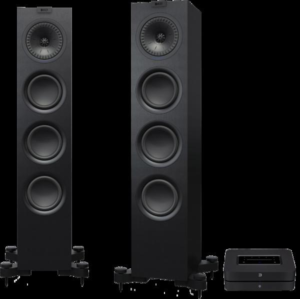 Pachete PROMO STEREO Pachet PROMO KEF Q550 + Bluesound PowernodePachet PROMO KEF Q550 + Bluesound Powernode