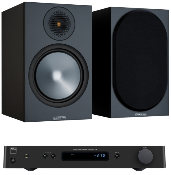 Pachete PROMO STEREO Pachet PROMO Monitor Audio Bronze 100 + NAD C 328Pachet PROMO Monitor Audio Bronze 100 + NAD C 328