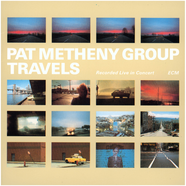 Viniluri VINIL ECM Records Pat Metheny Group: TravelsVINIL ECM Records Pat Metheny Group: Travels