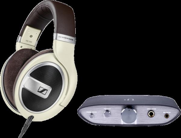 Pachete PROMO Casti si AMP Pachet PROMO Sennheiser HD 599 + iFi Audio ZEN DAC V2Pachet PROMO Sennheiser HD 599 + iFi Audio ZEN DAC V2