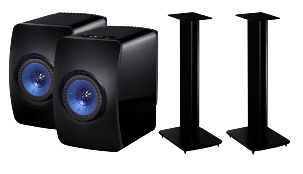 Boxe Amplificate KEF LS50 Wireless + KEF Performance StandKEF LS50 Wireless + KEF Performance Stand
