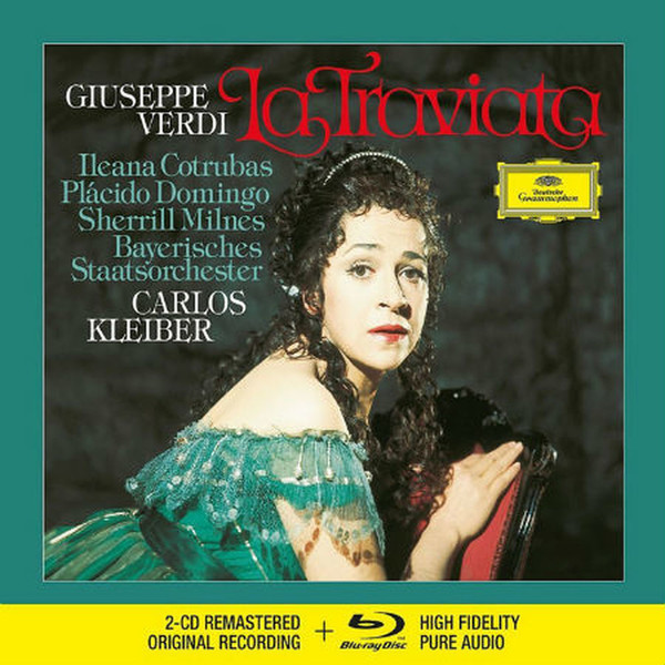 Muzica CD CD Deutsche Grammophon (DG) Verdi - Traviata ( Kleiber, Cotrubas, Domingo ) CD + BluRay AudioCD Deutsche Grammophon (DG) Verdi - Traviata ( Kleiber, Cotrubas, Domingo ) CD + BluRay Audio