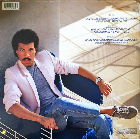 Viniluri VINIL Universal Records Lionel Richie- Can't Slow DownVINIL Universal Records Lionel Richie- Can't Slow Down