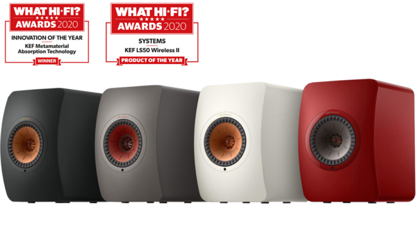 Boxe active KEF LS50 Wireless IIBoxe active KEF LS50 Wireless II
