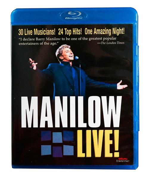 DVD & Bluray BLURAY Universal Records Barry Manillow Live BLURAY Universal Records Barry Manillow Live