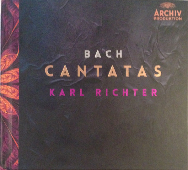 DVD & Bluray BLURAY Archiv Produktion Bach - Cantatas ( Richter, Munchener Bach Choir & Orchestra ) BluRay AudioBLURAY Archiv Produktion Bach - Cantatas ( Richter, Munchener Bach Choir & Orchestra ) BluRay Audio