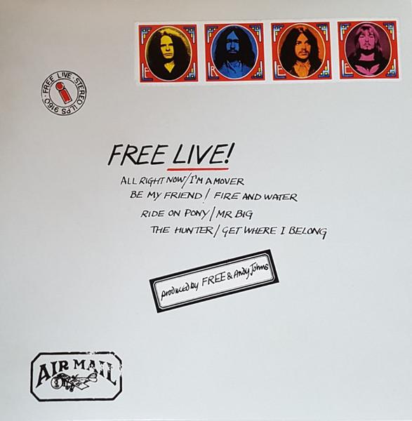 Viniluri VINIL Universal Records Free - Live!VINIL Universal Records Free - Live!