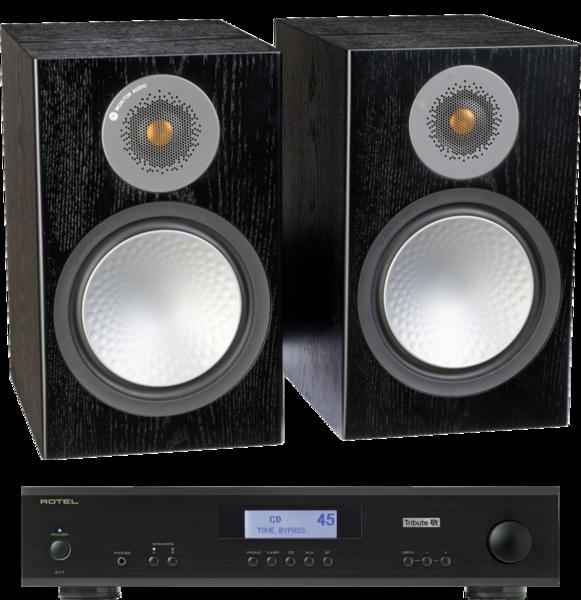Pachete PROMO STEREO Pachet PROMO Monitor Audio Silver 100 + Rotel A-11 TributePachet PROMO Monitor Audio Silver 100 + Rotel A-11 Tribute