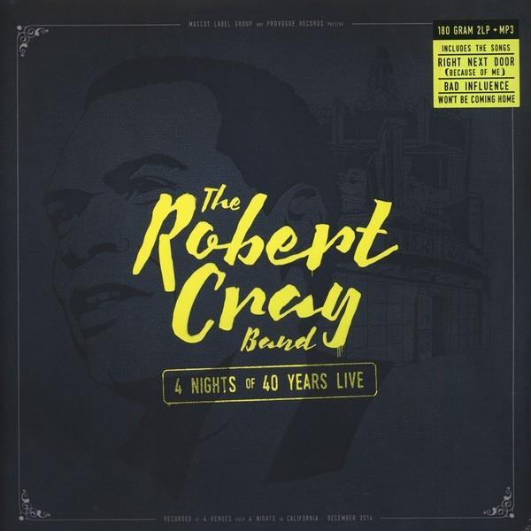 Viniluri VINIL Universal Records Robert Cray - 4 Nights Of 40 Years LiveVINIL Universal Records Robert Cray - 4 Nights Of 40 Years Live