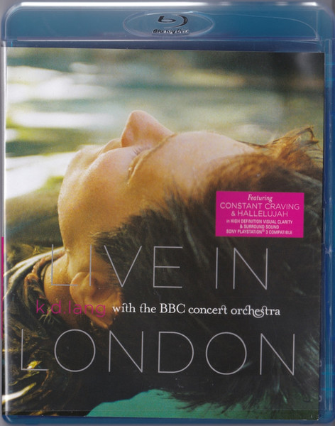 DVD & Bluray BLURAY Universal Records k.d. lang With The BBC Concert Orchestra - Live In LondonBLURAY Universal Records k.d. lang With The BBC Concert Orchestra - Live In London