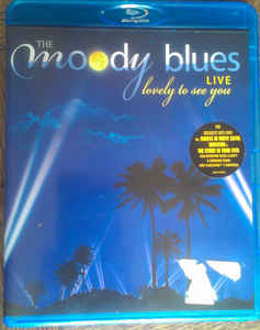 DVD & Bluray BLURAY Universal Records The Moody Blues - Lovely To See You LiveBLURAY Universal Records The Moody Blues - Lovely To See You Live