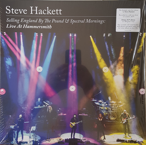 Viniluri VINIL Universal Records Steve Hackett - Selling England By The Pound & Spectral Mornings: Live At HammersmithVINIL Universal Records Steve Hackett - Selling England By The Pound & Spectral Mornings: Live At Hammersmith