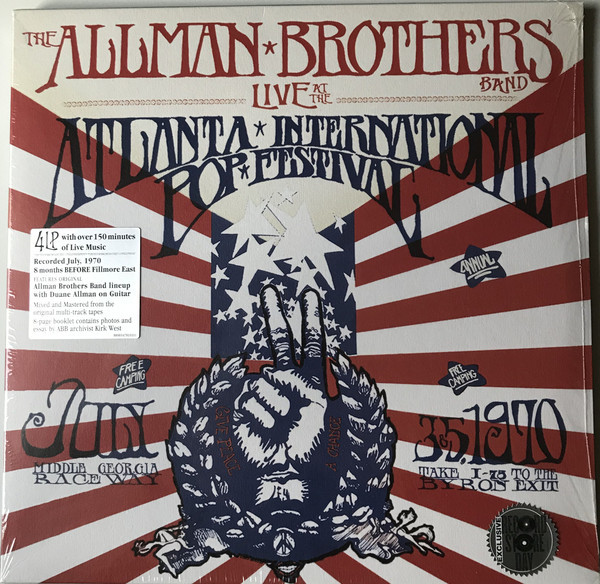 Viniluri VINIL Universal Records Allman Brothers Band - Live At The Atlanta International Pop Festival July 3 & 5, 1970VINIL Universal Records Allman Brothers Band - Live At The Atlanta International Pop Festival July 3 & 5, 1970