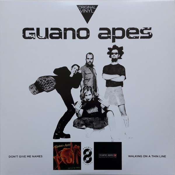 Viniluri VINIL Universal Records  Guano Apes - Don't Give Me Names / Walking On A Thin LineVINIL Universal Records  Guano Apes - Don't Give Me Names / Walking On A Thin Line