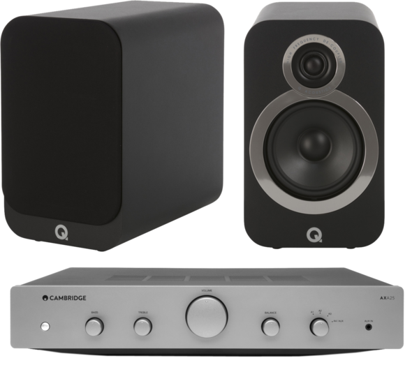 Pachete PROMO STEREO Pachet PROMO Q Acoustics 3020i + Cambridge Audio AXA25Pachet PROMO Q Acoustics 3020i + Cambridge Audio AXA25
