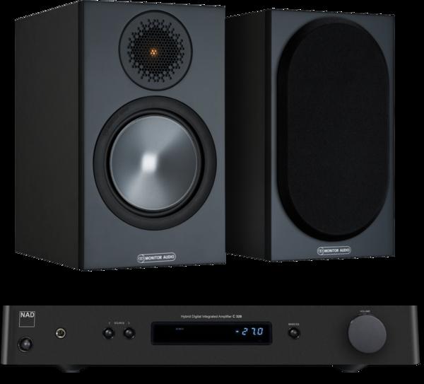 Pachete PROMO STEREO Pachet PROMO Monitor Audio Bronze 50 + NAD C 328Pachet PROMO Monitor Audio Bronze 50 + NAD C 328