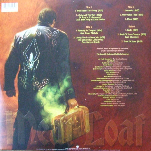 Viniluri VINIL Universal Records Meat Loaf – Braver Than We AreVINIL Universal Records Meat Loaf – Braver Than We Are