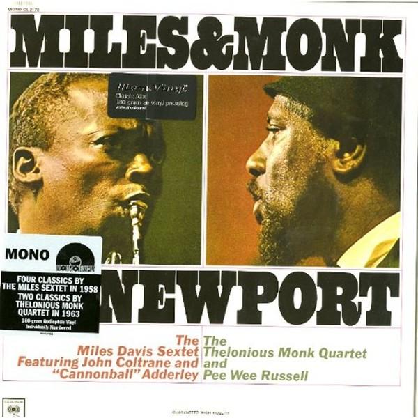 Viniluri VINIL Universal Records Miles Davis - Miles And Monk At Newport  (Mono)VINIL Universal Records Miles Davis - Miles And Monk At Newport  (Mono)