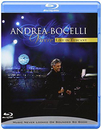 DVD & Bluray BLURAY Universal Records Andrea Bocelli - Vivere: Live In TuscanyBLURAY Universal Records Andrea Bocelli - Vivere: Live In Tuscany