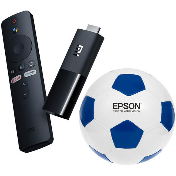 Accesorii Xiaomi Mi Tv Stick + Minge de fotbal personalizataXiaomi Mi Tv Stick + Minge de fotbal personalizata