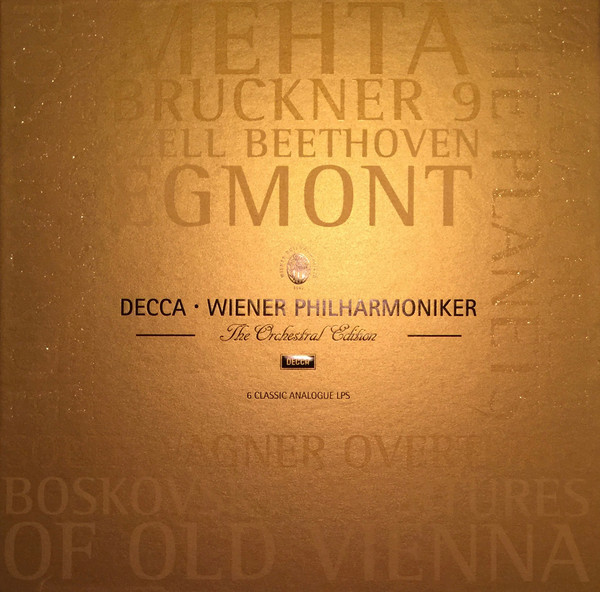 Viniluri VINIL Universal Records Wiener Philharmoniker - The Orchestral Edition 6LP BoxVINIL Universal Records Wiener Philharmoniker - The Orchestral Edition 6LP Box