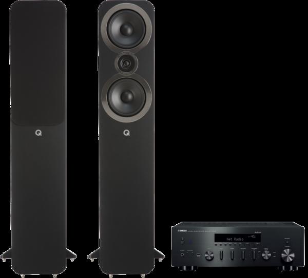 Pachete PROMO STEREO Pachet PROMO Q Acoustics 3050i + Yamaha R-N602Pachet PROMO Q Acoustics 3050i + Yamaha R-N602