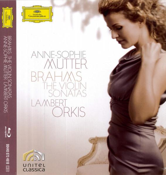 DVD & Bluray BLURAY Deutsche Grammophon (DG) Brahms - The Violin Sonatas (Mutter, Orkis )BLURAY Deutsche Grammophon (DG) Brahms - The Violin Sonatas (Mutter, Orkis )