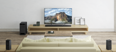 Imagine cu Sistem Home Cinema pe 5.1 canale cu Bluetooth