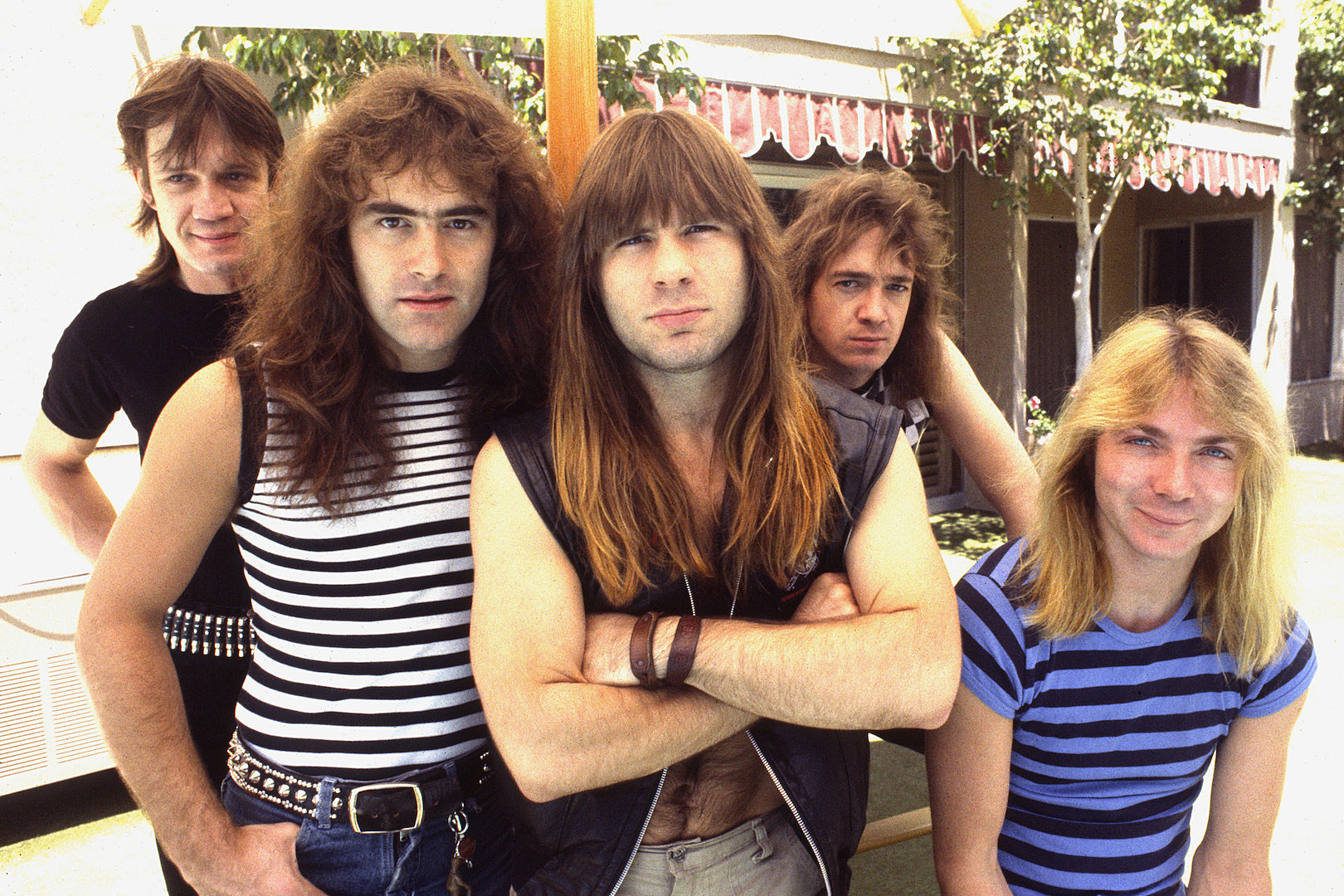 Image result for iron maiden band""