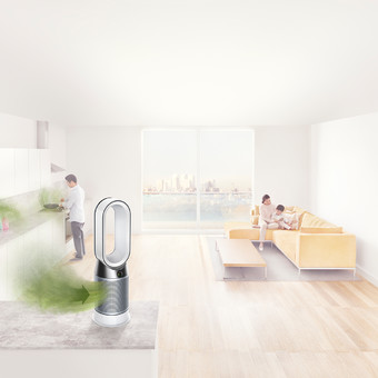 Dyson Purificator, ventilator si aeroterma  - HP04 Pure Hot + Cool