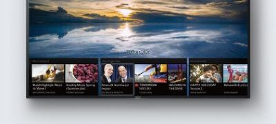 Imagine cu XD83 4K HDR cu Android TV