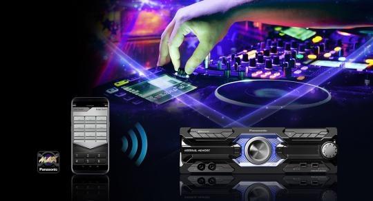 Panasonic SC-AKX710E-K 2000W Hifi rendszer   Extreme Digital