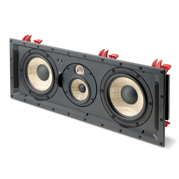 3 channels InWall loudspeaker