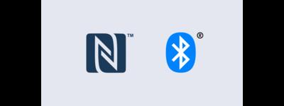 Sigle NFC și Bluetooth®