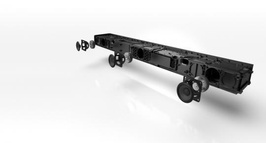 Panasonic SCHTB700EBK 376W 3.1ch Soundbar - Soundbar - TV + ...