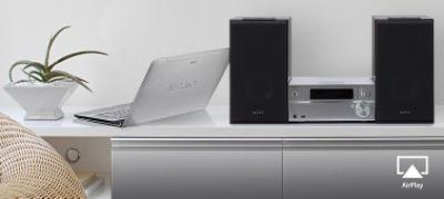 Imagine cu Receptor cu sunet de înaltă rezoluţie cu CD şi Bluetooth®