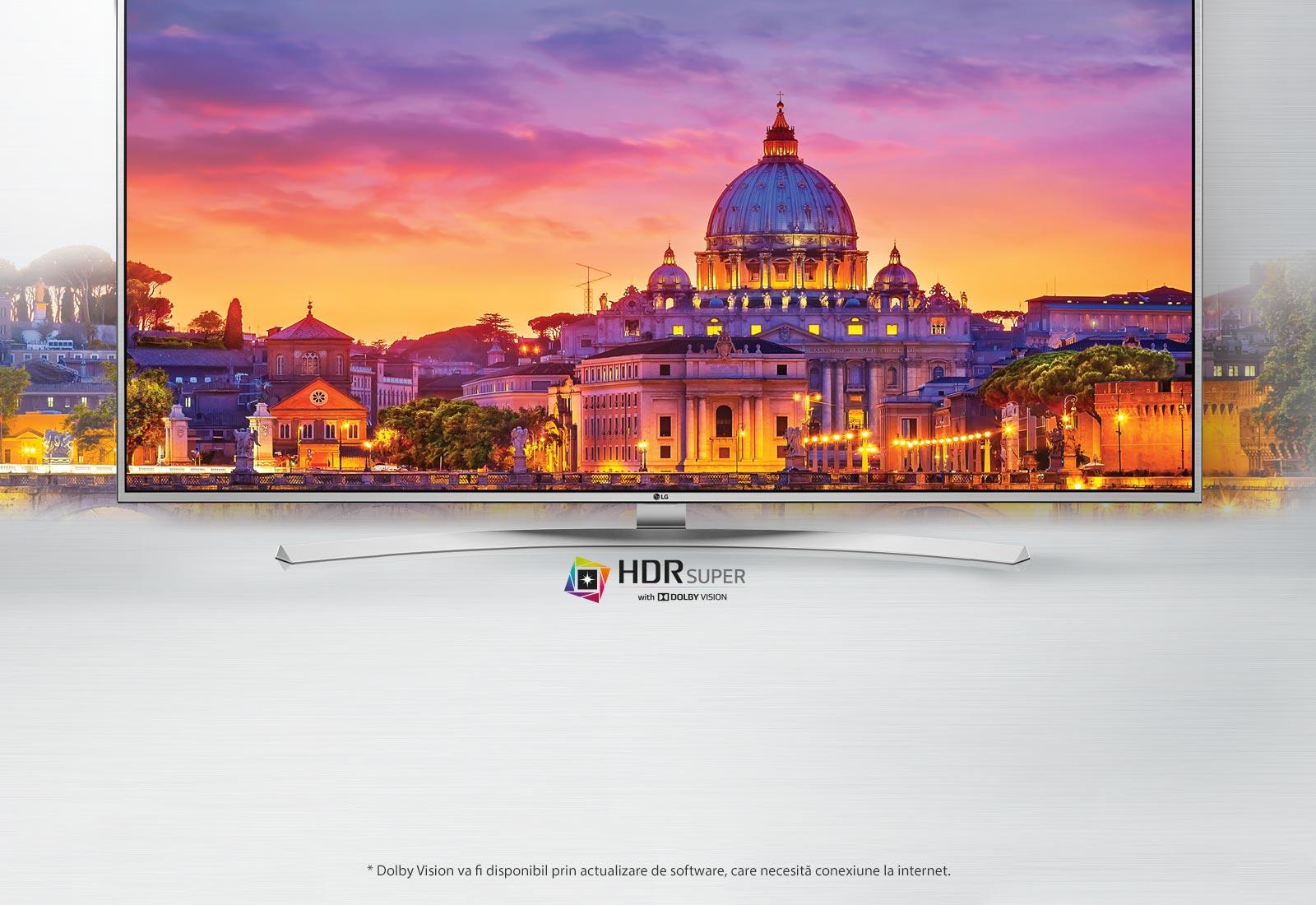 HDR SUPER cu Dolby Vision