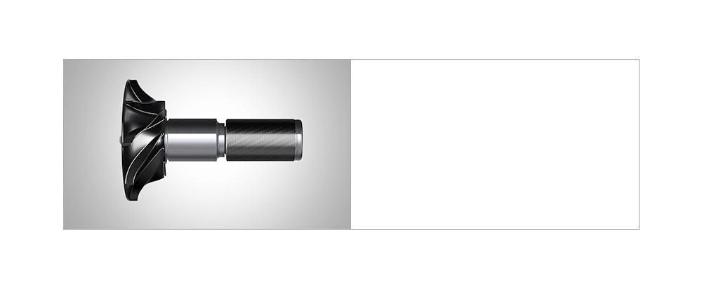 Vedere în detaliu a motorului digital Dyson V4