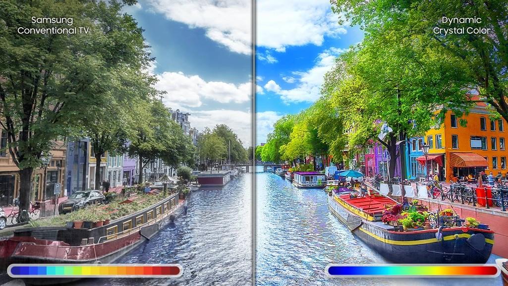 Dynamic Crystal Color, imagini ca-n realitate