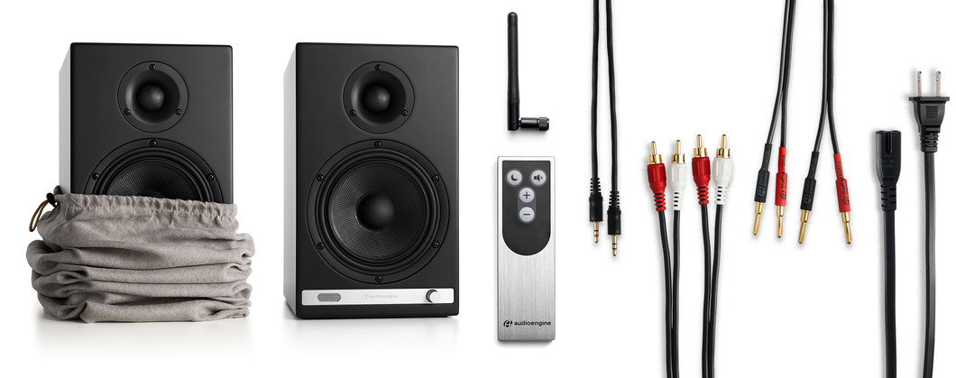 Image result for audioengine hd6 unbox