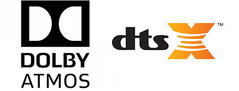 Image result for dolby atmos dts x logo