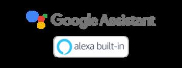 Sigle Google Assistant și Alexa integrate