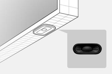 Boxă ovală subțire