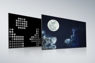 Ecran și panou posterior tip Full Array LED convențional